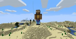 Statue of Digger in the Desert Sands Minecraft Map & Project