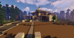 Summer Forest House Minecraft Map & Project