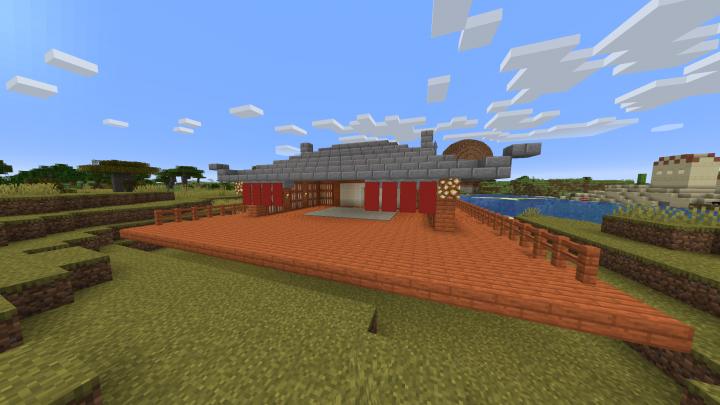 Back of Sven's dog house