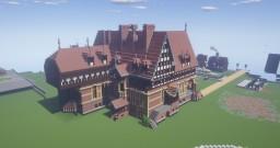 mansion (Gelbensande Manor) Minecraft Map & Project