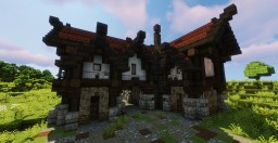 Medieval Stables Minecraft Map & Project