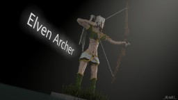 Elven Archer Minecraft Map & Project