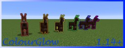 ColourGlow 1.14+ Minecraft Data Pack