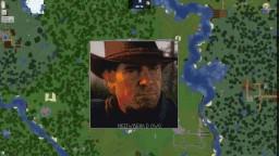 Arthur Morgan pixel art Minecraft Map & Project