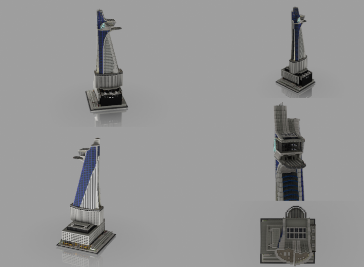 Avengers Tower Render Collection