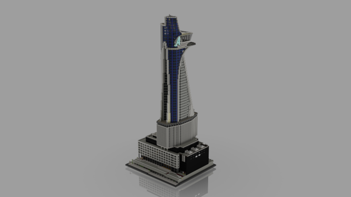 Avengers Tower Side
