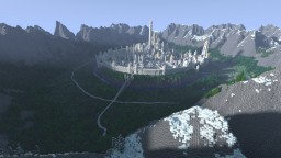The Great Hidden City of Turgon - Gondolin Minecraft Map & Project