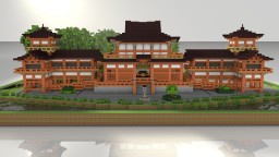 Byodo-In temple (Hawaii replica) Japanese temple Minecraft Map & Project