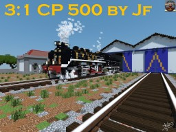 The FASTEST Portuguese Steam Locomotive by Jf Minecraft Map & Project
