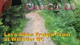 Summer Fun: Mountain Biking at Whistler BC---Freight Train--- Minecraft Map & Project