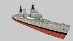 HMS Tiger C20 Minecraft Map & Project