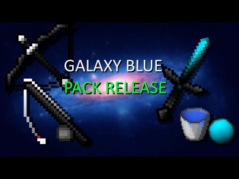 Galaxy Blue 32x FPS Pack Minecraft Texture Pack