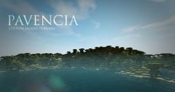 PAVENCIA - Custom Island Terrain Minecraft Map & Project