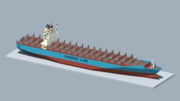 Maersk Lins Minecraft Map & Project