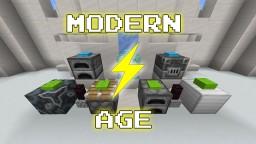 [Data Pack] Modern Age  -  Machinery Minecraft Data Pack
