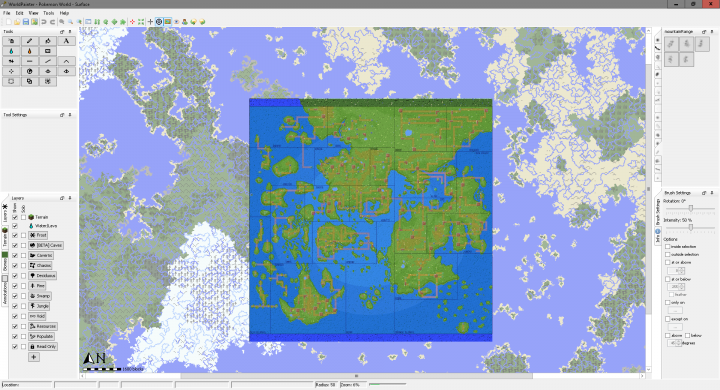 Reupload] Pokemon World Map (Terrain Only) Minecraft Project