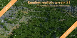 Random Terrain [Download] 2048x2048 Minecraft Map & Project