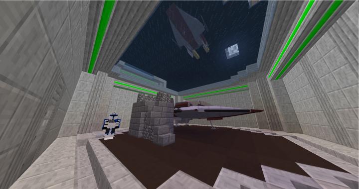 Jedi Temple docking bay