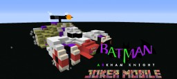 JOKER MOBILE: BATMAN ARKHAM KNIGHT Minecraft Map & Project
