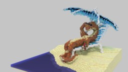 Dragon Reclining Minecraft Map & Project