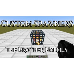 Custom Spawners Minecraft Data Pack