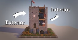 Castle Keep Minecraft Map & Project