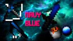 Navy Blue 16x FPS PVP Pack Minecraft Texture Pack