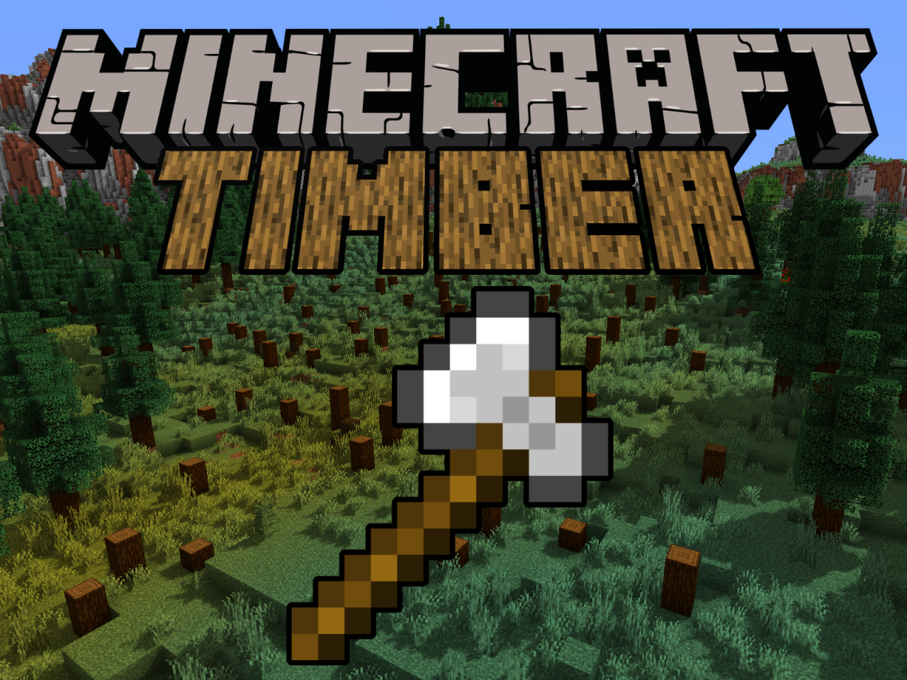 Timber Datapack Minecraft Data Pack