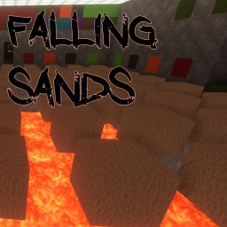 Falling Sands Minecraft Map & Project
