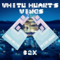 32x White Heart Elytra (Optifine Required!) Minecraft Texture Pack