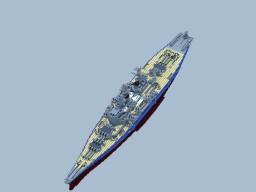 RNS Calliope Class Battleship Minecraft Map & Project