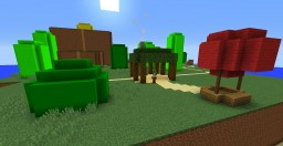 Super Mario World (OLD) Minecraft Map & Project