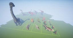 Dinosaur Pack Minecraft Map & Project
