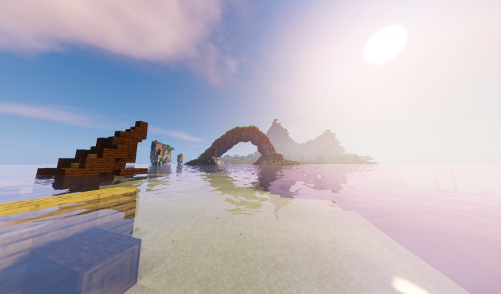 Arch at Spawn