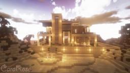 Modern Mansion + Interior | Landscape | Amberstone Pack | Minecraft Timelapse Minecraft Map & Project