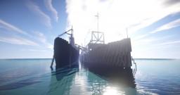 HMS Imperia ( rebuild by NewAtlanticNavyDefence ) (Java & Pocket Edition) Minecraft Map & Project