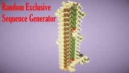 1.14.4 Random Exclusive Sequence Generator / Random Clock Length In Minecraft Minecraft Map & Project