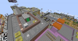 The 4 elements in Island Form Minecraft Map & Project