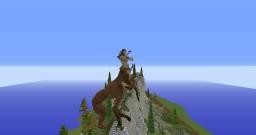 Female Centaur Minecraft Map & Project