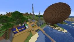 Pewdiepie's Broland 100% Complete up-to Episode 19  *LAST UPDATE* Minecraft Map & Project