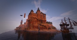 SandStone palace [Side Project] Minecraft Map & Project
