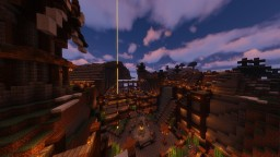 Mountain City Minecraft Map & Project