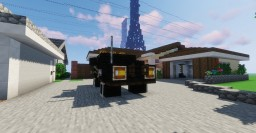 Back To The Future- 85 Toyota Hilux 1.5:1 Minecraft Map & Project
