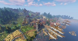 Medieval town Aramor Minecraft Map & Project