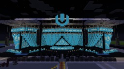 Ultra Music Festival 2019 Mainstage Minecraft Map & Project