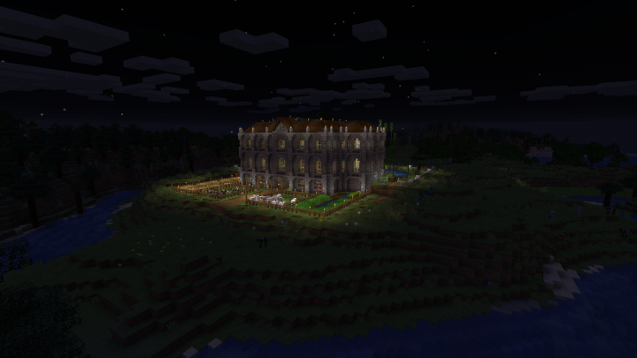 The Back at Night