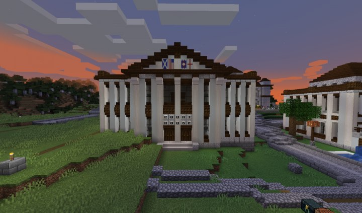 The Turtle Bay Courthouse!
