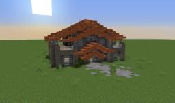 Acacia Themed House Minecraft Map