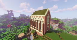 Brick Gothic Chapel Minecraft Map & Project