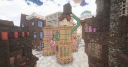 Diagon Alley | 🔮 ObscurusMC 🔮 (Harry Potter) Minecraft Map & Project